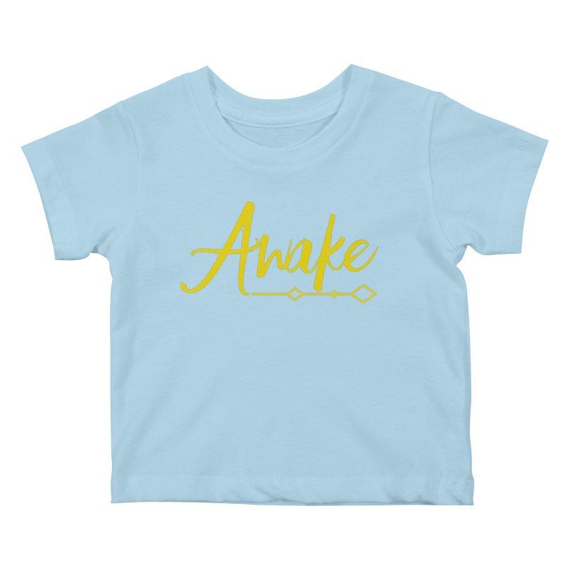 Awake Kids Baby T-Shirt by Crystalline Light