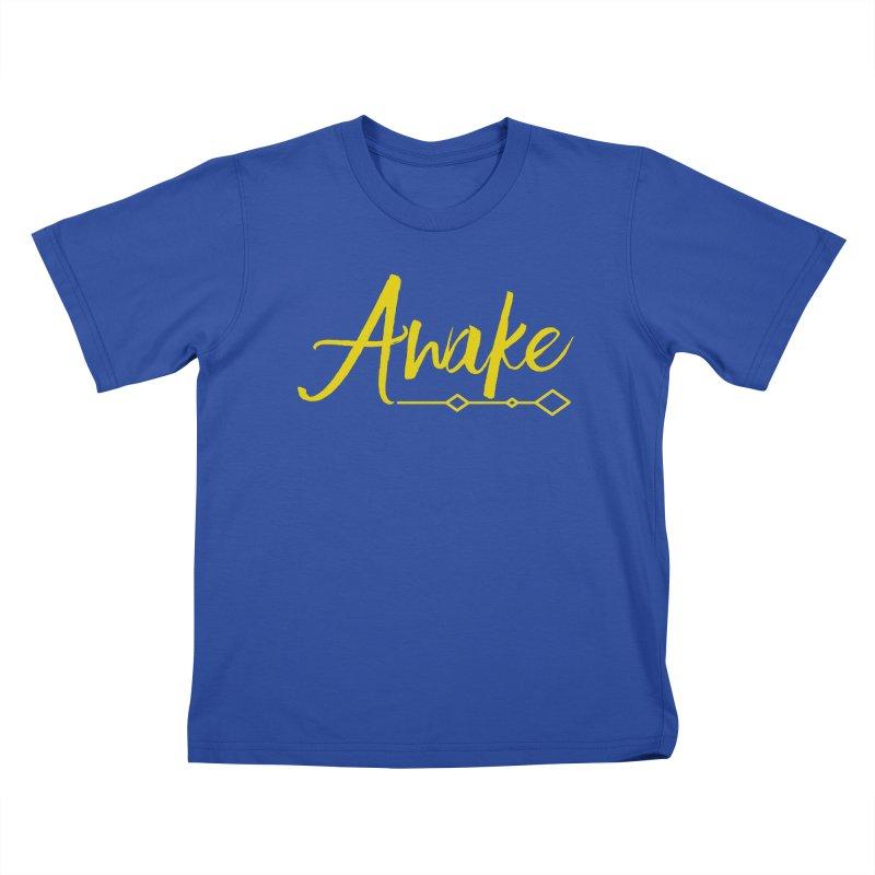 Awake Kids T-Shirt by Crystalline Light