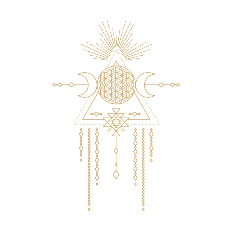 Flower of Life Tribal Totem by Crystalline Light
