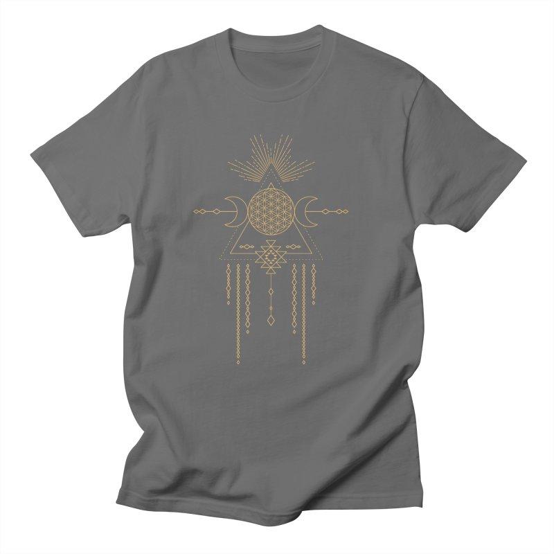 Flower of Life Tribal Totem Women's T-Shirt by Crystalline Light