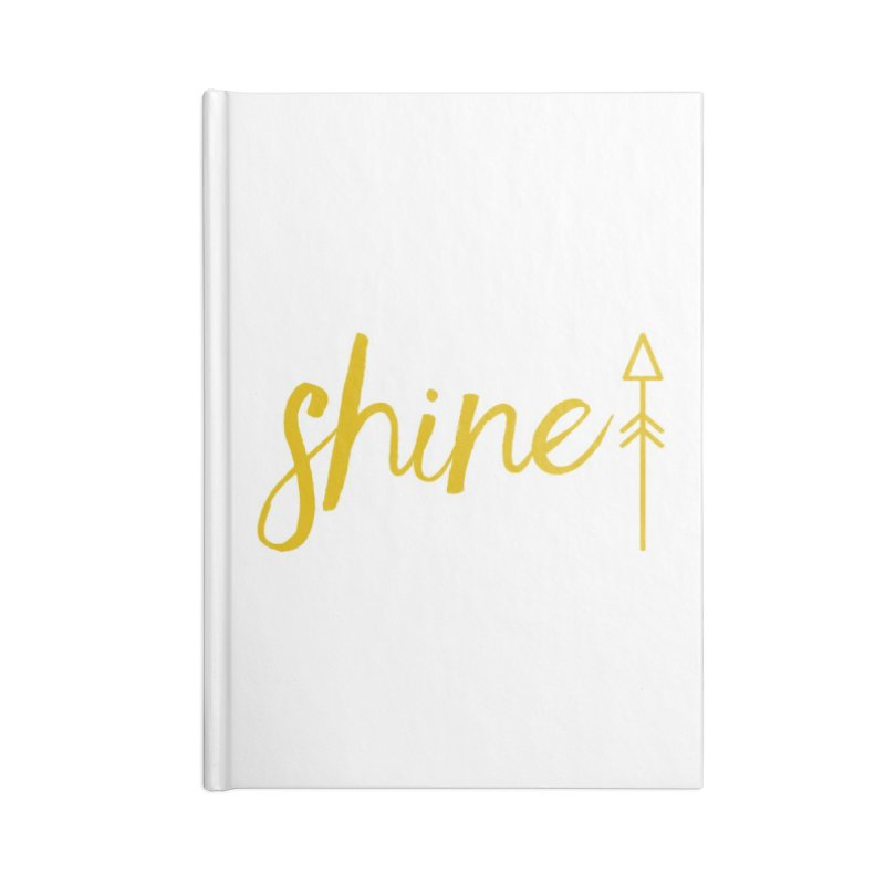 Shine Accessories Blank Journal Notebook by Crystalline Light