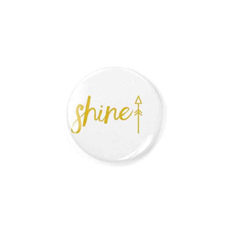 Shine Accessories Button by Crystalline Light