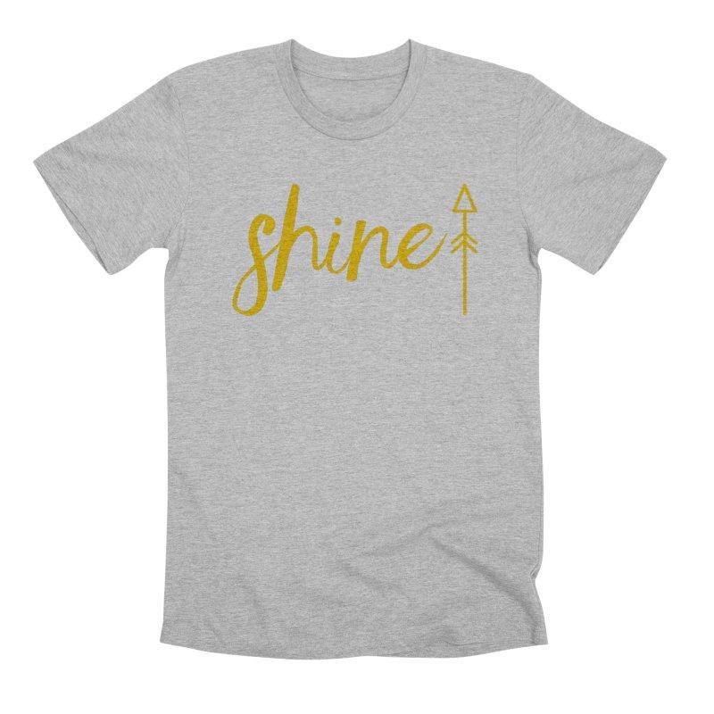 Shine Men's Premium T-Shirt by Crystalline Light