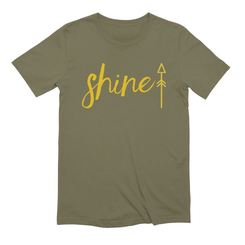 Shine Men's Extra Soft T-Shirt by Crystalline Light