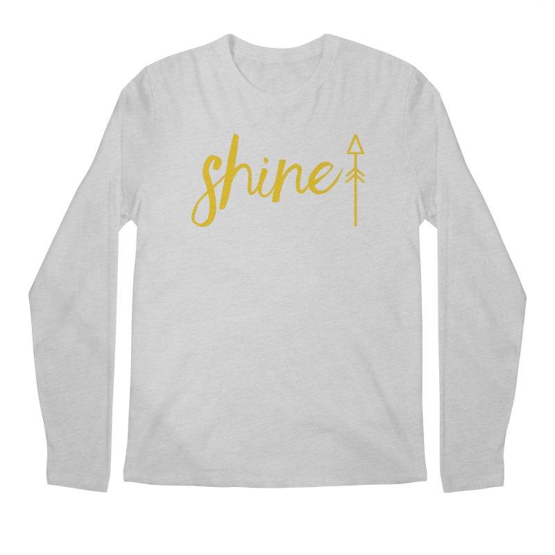 Shine Men's Regular Longsleeve T-Shirt by Crystalline Light