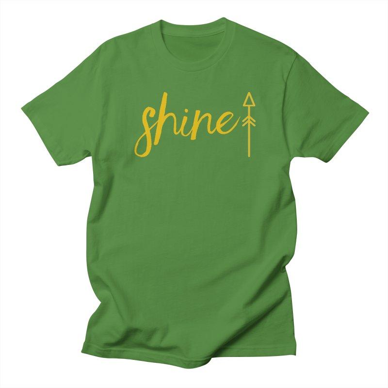 Shine Men's Regular T-Shirt by Crystalline Light