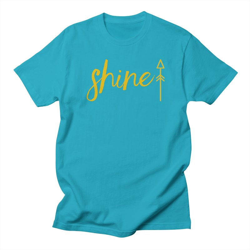 Shine Men's Regular T-Shirt by Crystalline Light