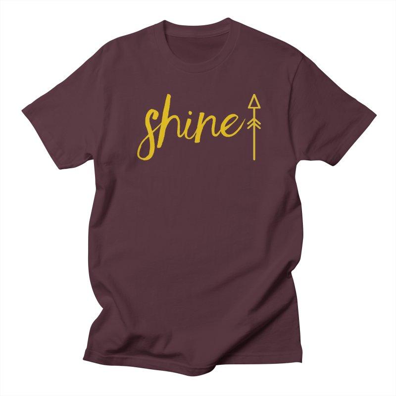 Shine Women's Regular Unisex T-Shirt by Crystalline Light