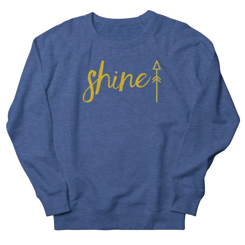 Shine Women's French Terry Sweatshirt by Crystalline Light