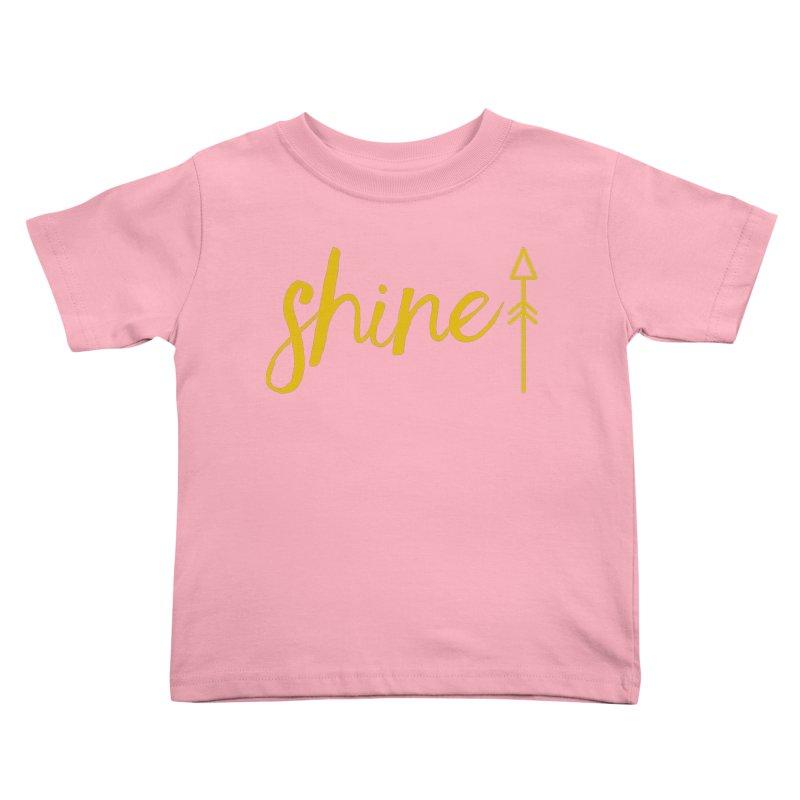 Shine Kids Toddler T-Shirt by Crystalline Light