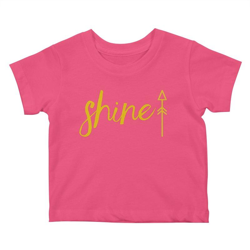 Shine Kids Baby T-Shirt by Crystalline Light