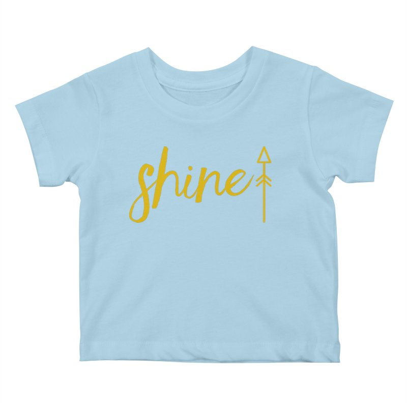 Shine Kids Baby T-Shirt by Crystalline Light