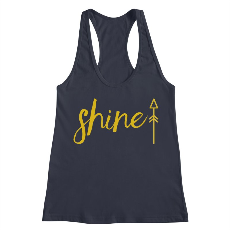 Shine Women's Racerback Tank by Crystalline Light