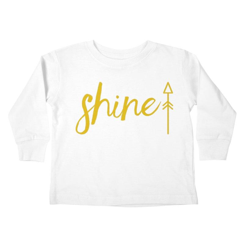 Shine Kids Toddler Longsleeve T-Shirt by Crystalline Light