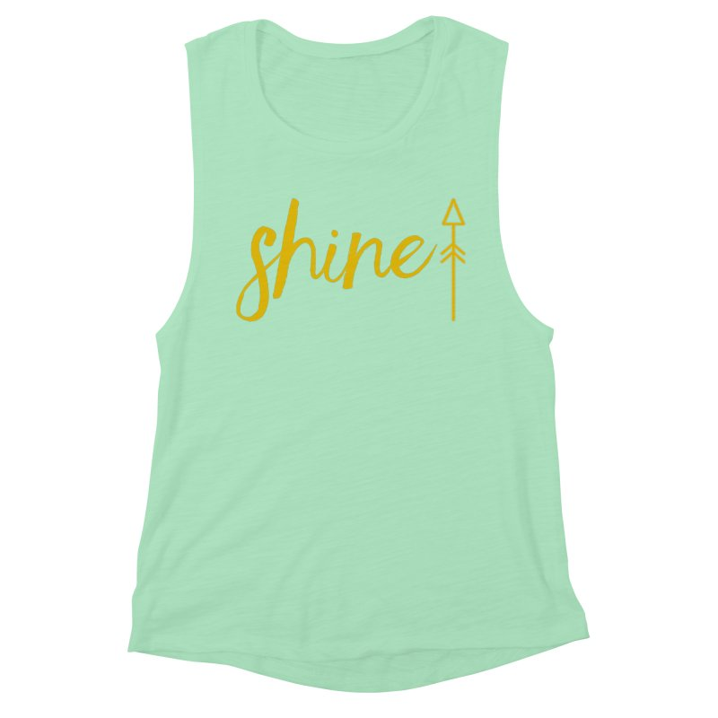 Shine Women's Muscle Tank by Crystalline Light