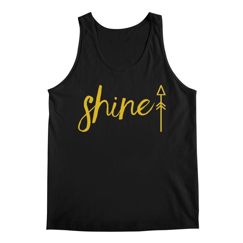 Shine Men's Regular Tank by Crystalline Light