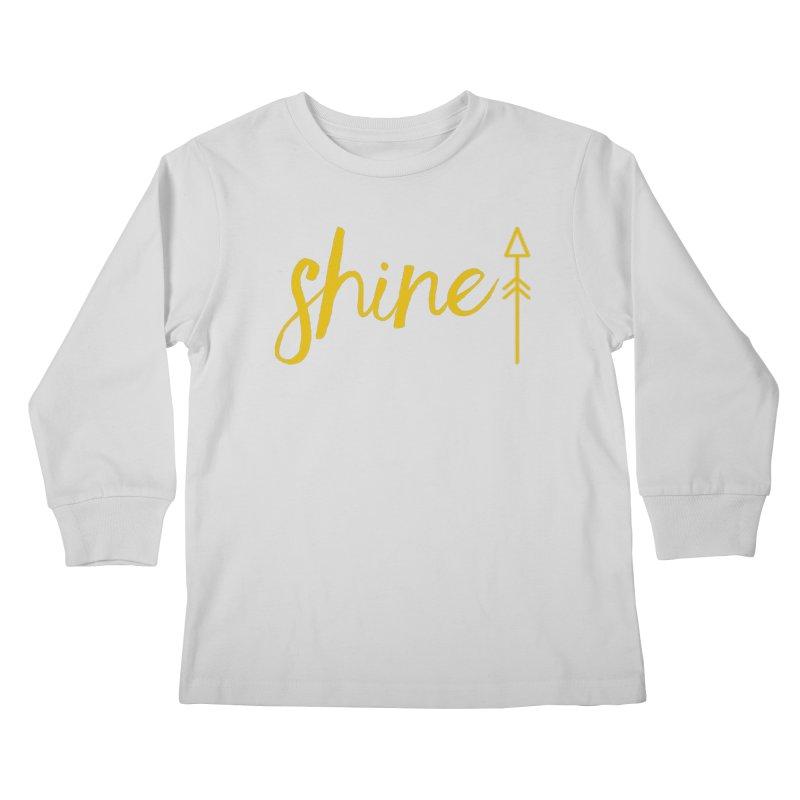 Shine Kids Longsleeve T-Shirt by Crystalline Light