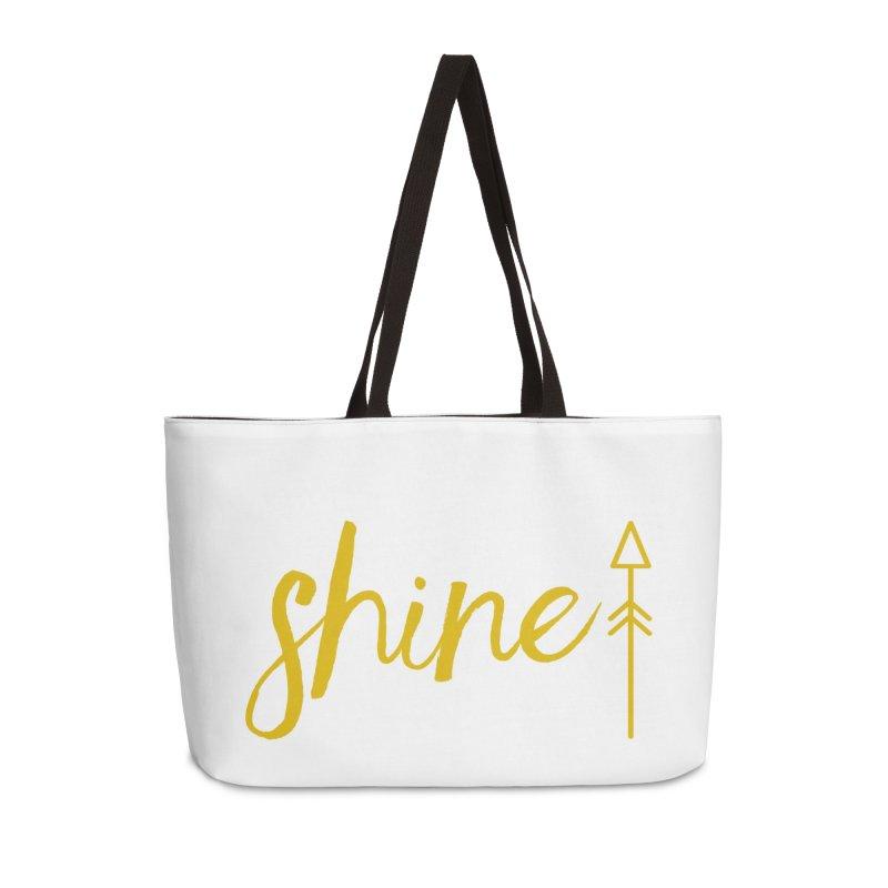 Shine Accessories Weekender Bag Bag by Crystalline Light