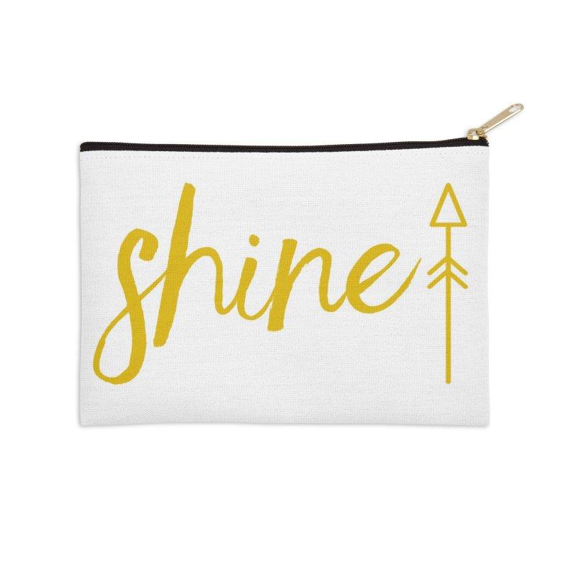 Shine Accessories Zip Pouch by Crystalline Light