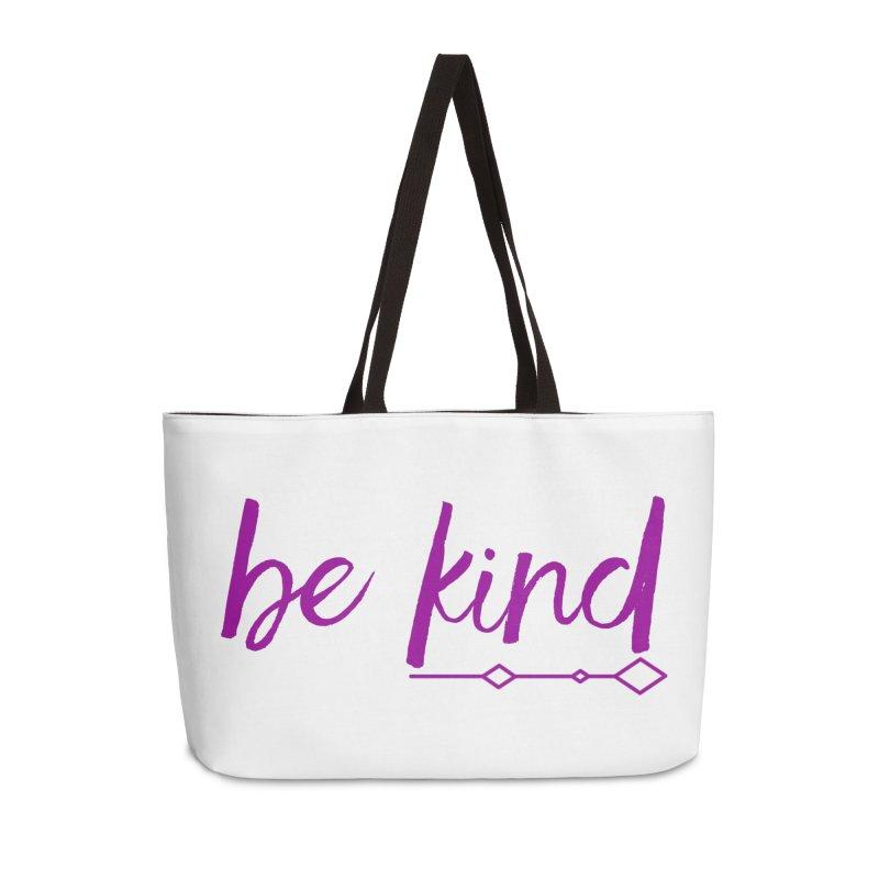 Be Kind Accessories Weekender Bag Bag by Crystalline Light