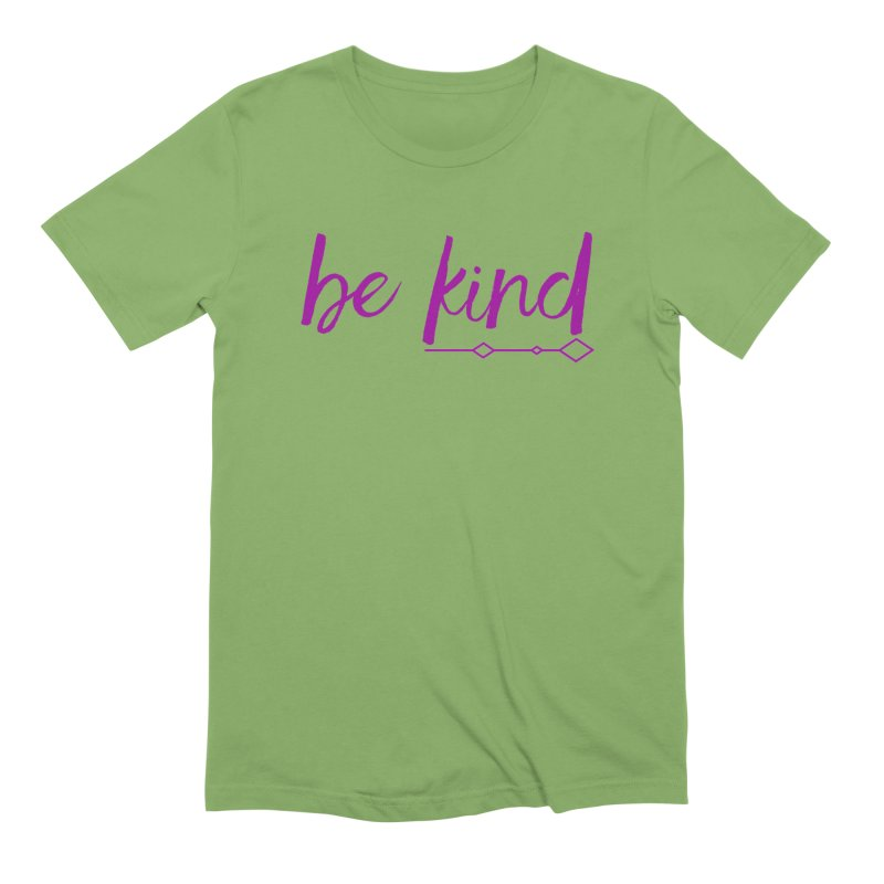 Be Kind Men's Extra Soft T-Shirt by Crystalline Light