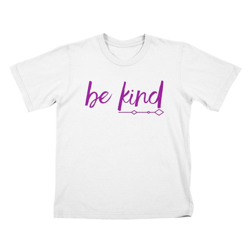 Be Kind Kids T-Shirt by Crystalline Light