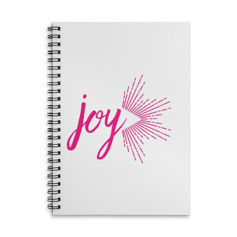 Joy Accessories Lined Spiral Notebook by Crystalline Light