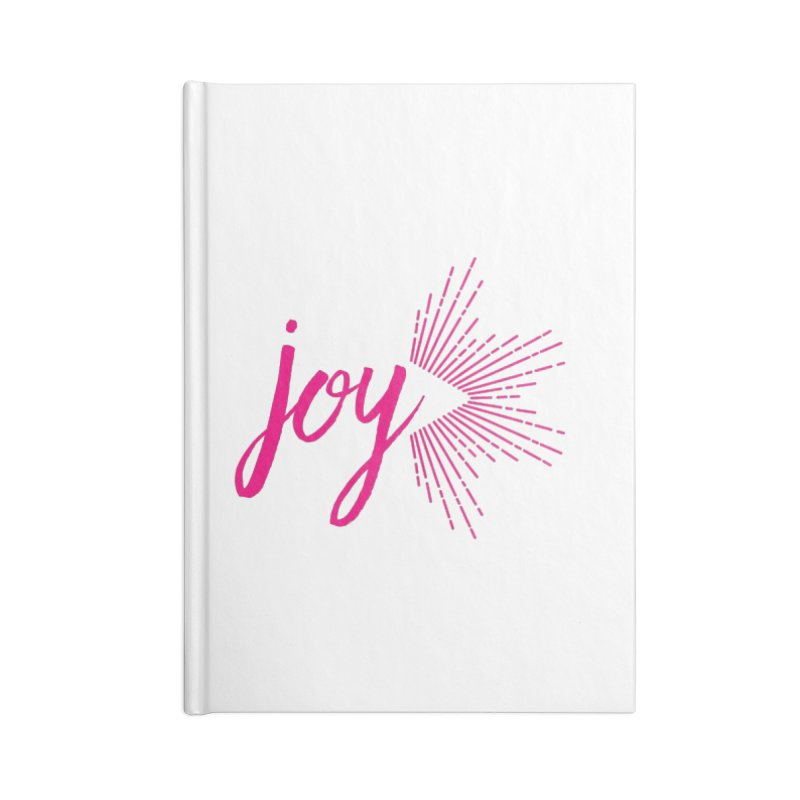 Joy Accessories Blank Journal Notebook by Crystalline Light