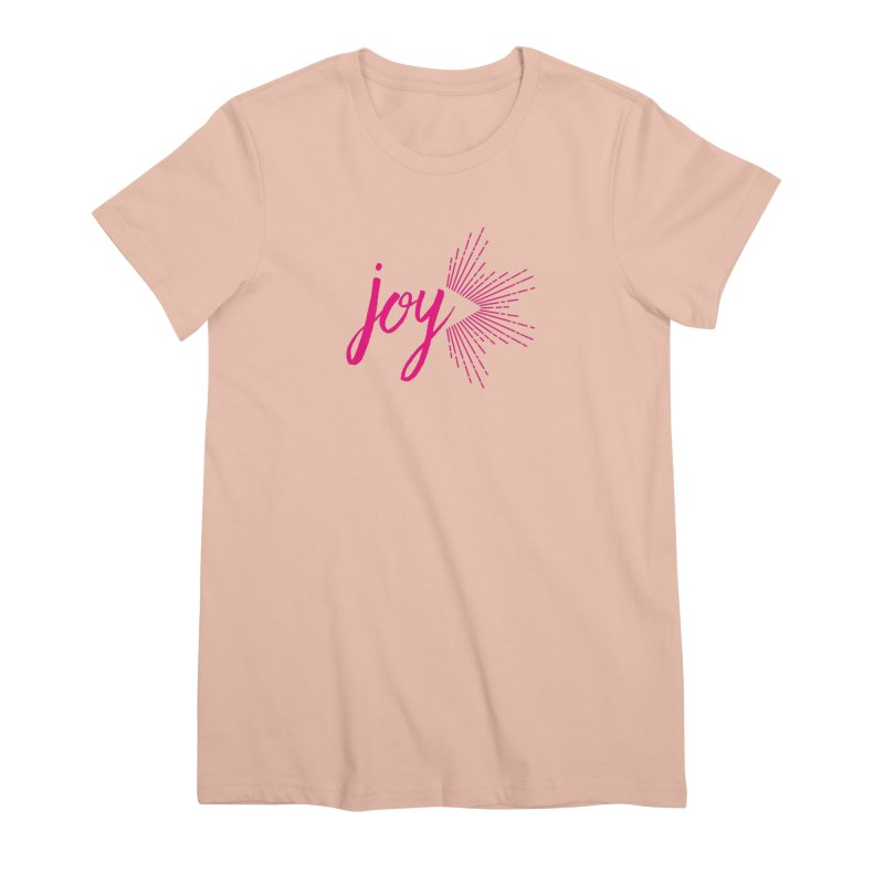 Joy Women's Premium T-Shirt by Crystalline Light