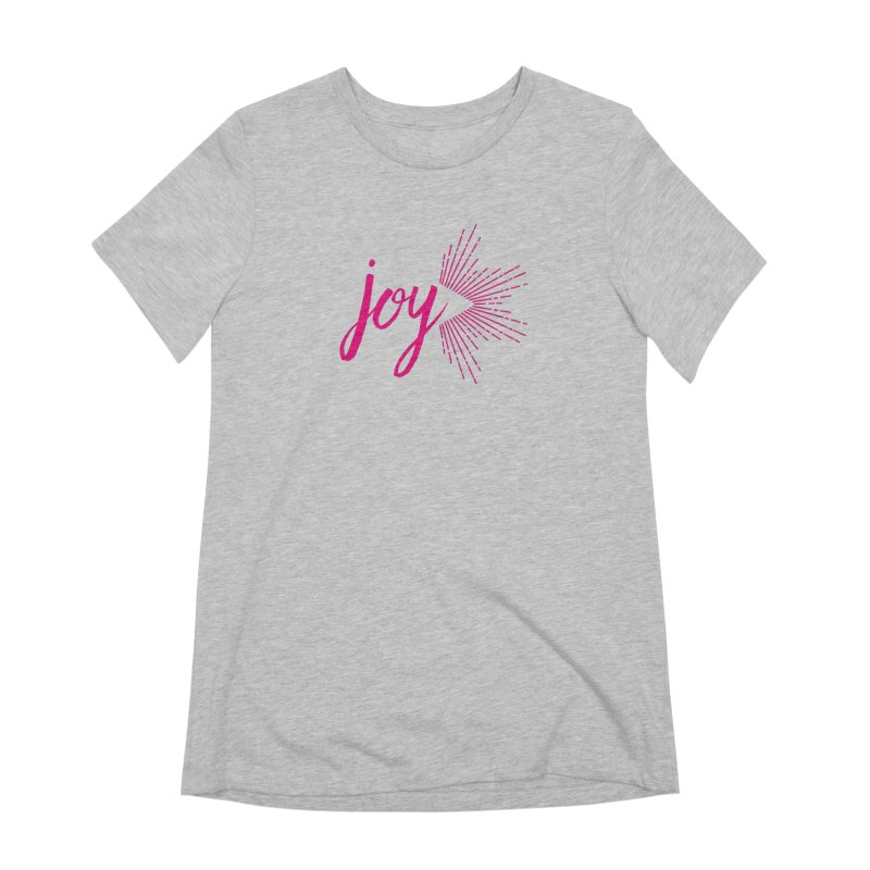 Joy Women's Extra Soft T-Shirt by Crystalline Light