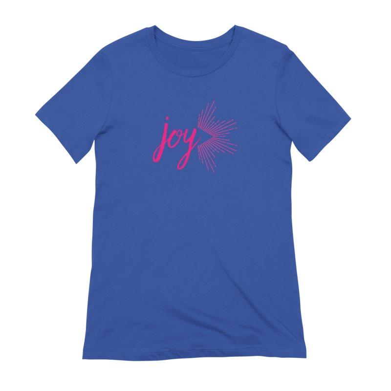 Joy Women's Extra Soft T-Shirt by Crystalline Light