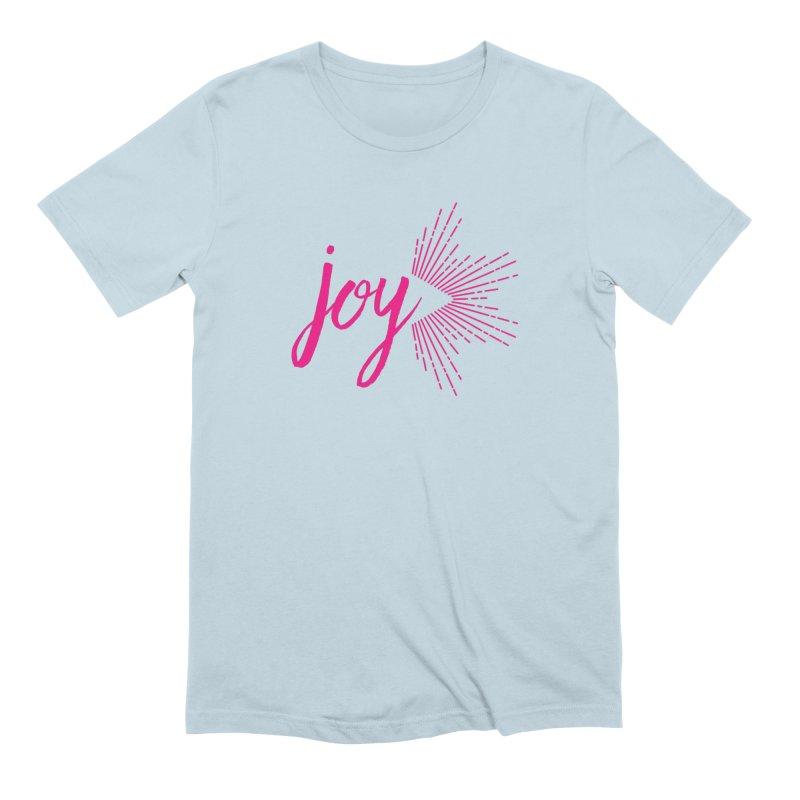 Joy Men's Extra Soft T-Shirt by Crystalline Light
