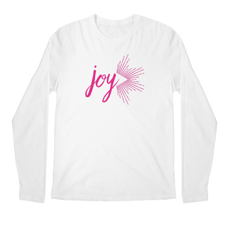 Joy Men's Regular Longsleeve T-Shirt by Crystalline Light