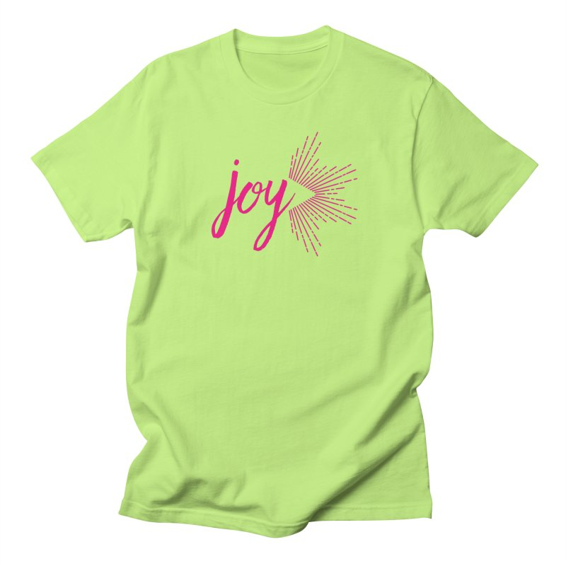 Joy Women's Regular Unisex T-Shirt by Crystalline Light