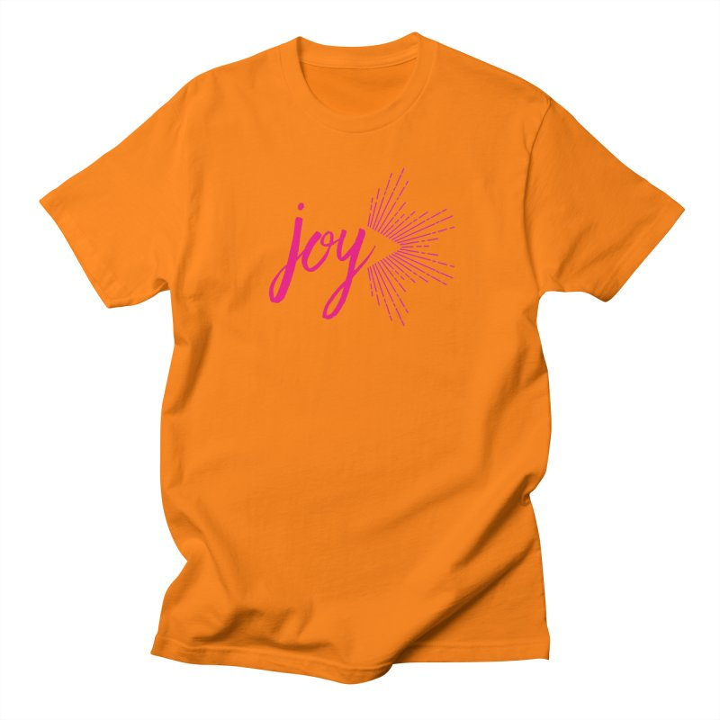 Joy Men's Regular T-Shirt by Crystalline Light