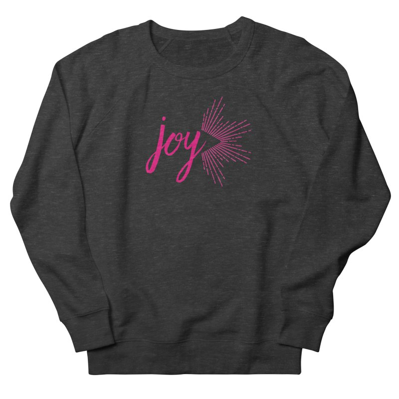 Joy Men's French Terry Sweatshirt by Crystalline Light