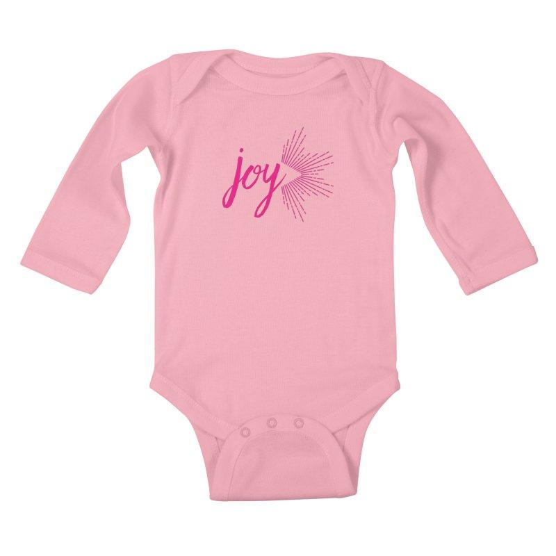 Joy Kids Baby Longsleeve Bodysuit by Crystalline Light