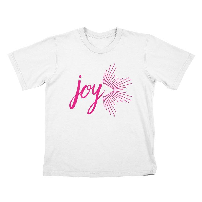 Joy Kids T-Shirt by Crystalline Light