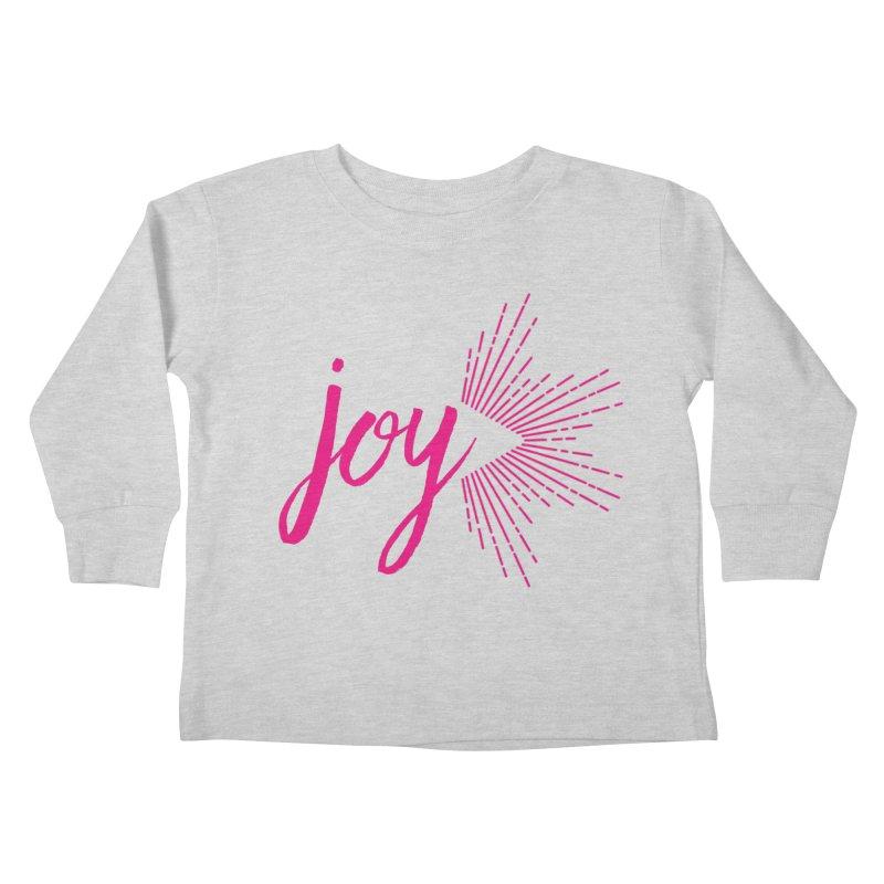 Joy Kids Toddler Longsleeve T-Shirt by Crystalline Light
