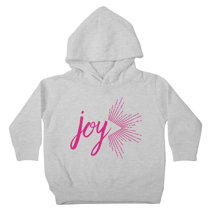 Joy Kids Toddler Pullover Hoody by Crystalline Light