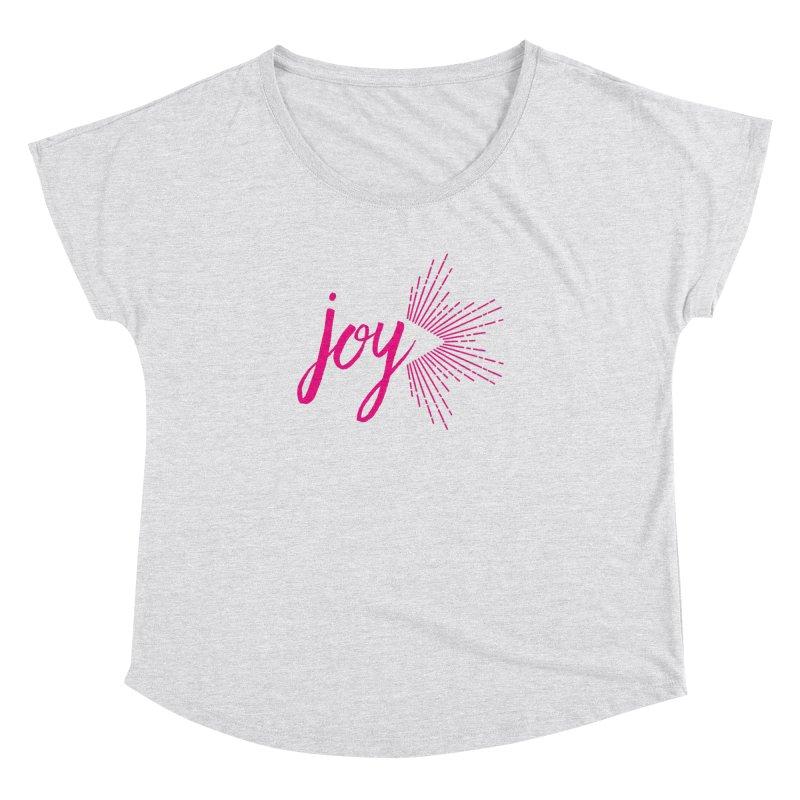 Joy Women's Dolman Scoop Neck by Crystalline Light