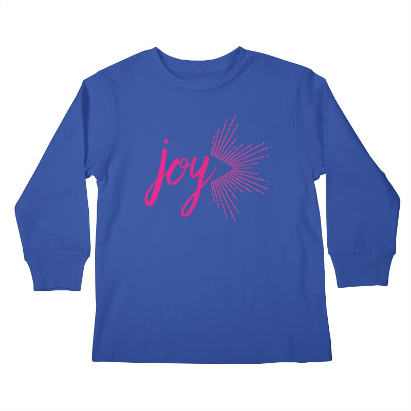 Joy Kids Longsleeve T-Shirt by Crystalline Light