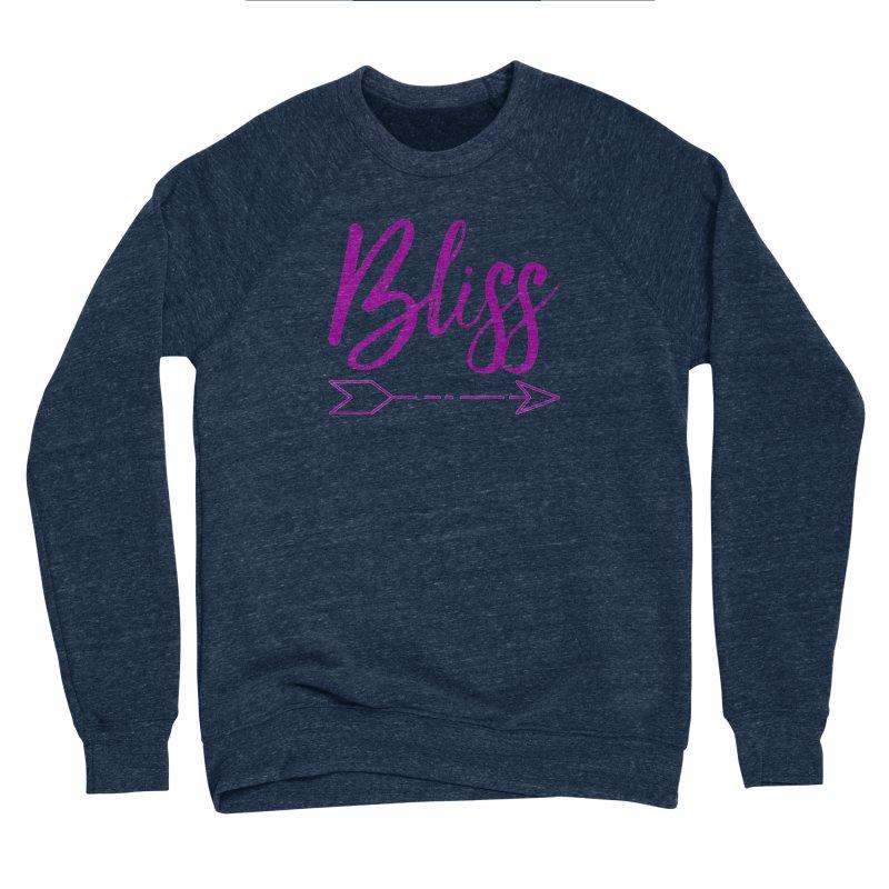 Bliss Men's Sponge Fleece Sweatshirt by Crystalline Light