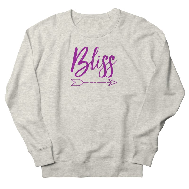 Bliss Women's French Terry Sweatshirt by Crystalline Light