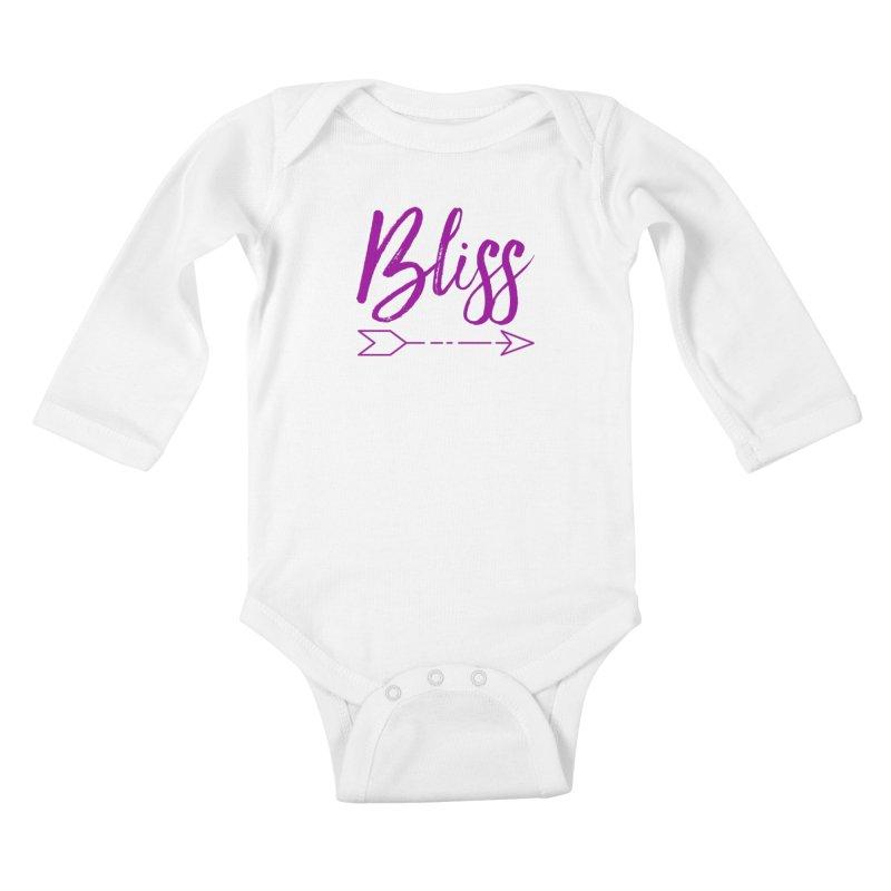 Bliss Kids Baby Longsleeve Bodysuit by Crystalline Light