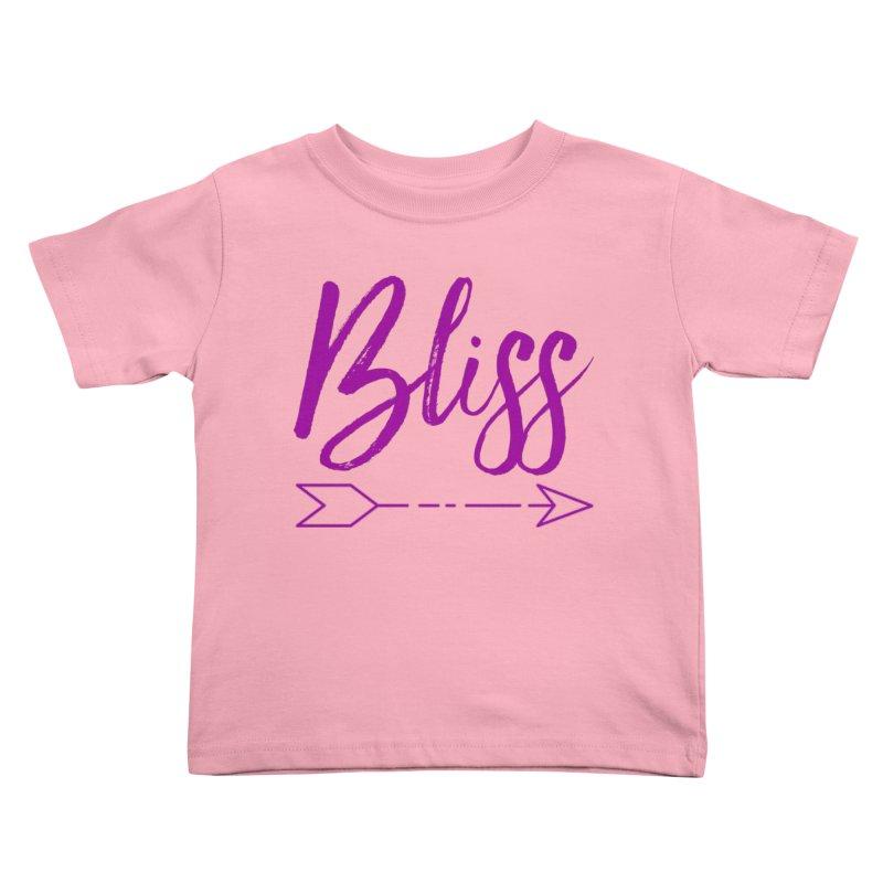 Bliss Kids Toddler T-Shirt by Crystalline Light