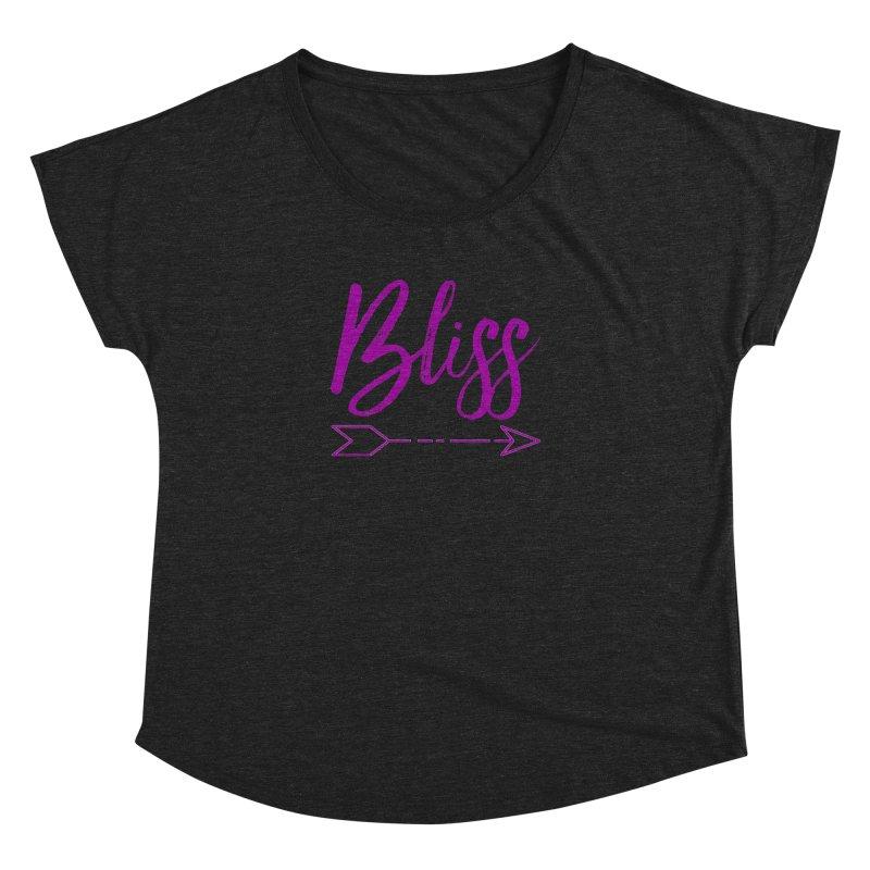 Bliss Women's Dolman Scoop Neck by Crystalline Light