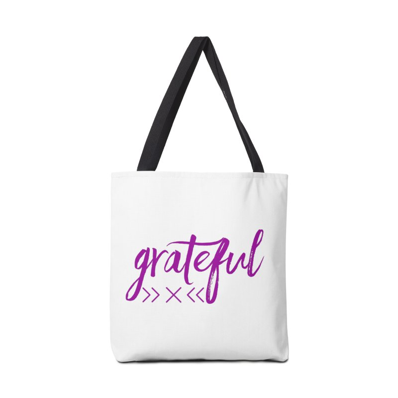 Grateful Accessories Tote Bag Bag by Crystalline Light