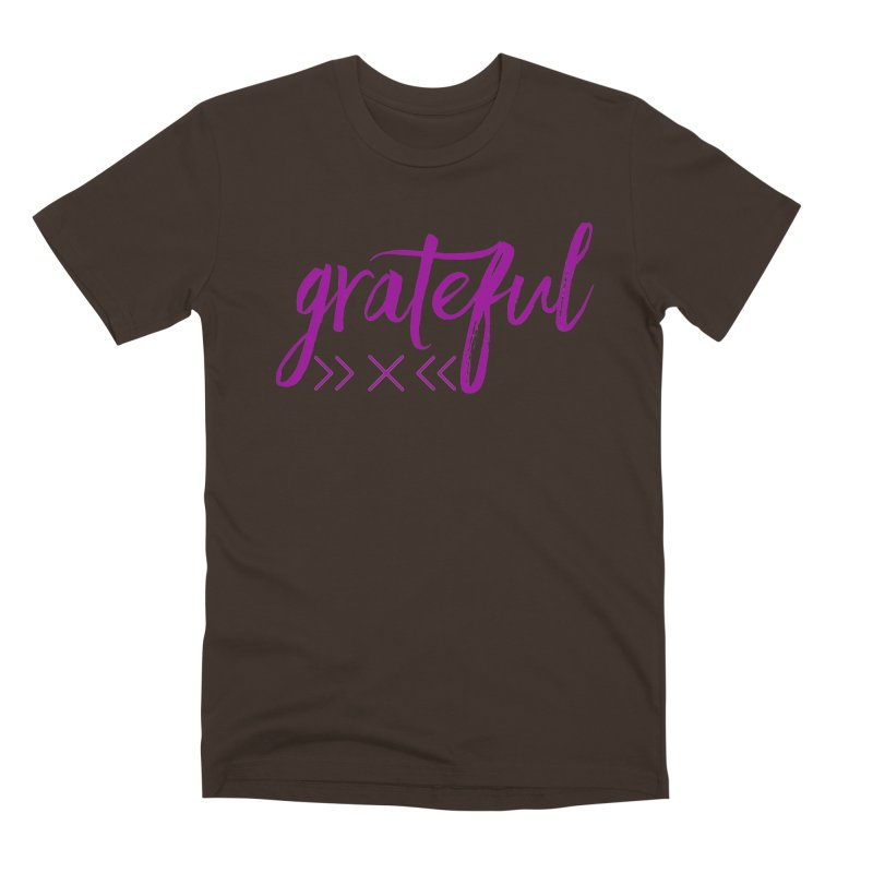Grateful Men's Premium T-Shirt by Crystalline Light