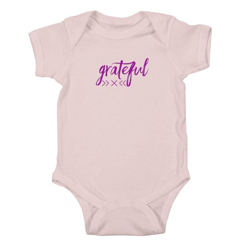 Grateful Kids Baby Bodysuit by Crystalline Light